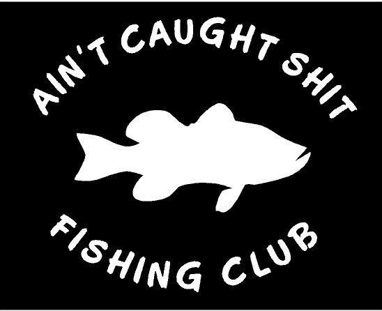 69-01 Fishing Decal Shut up and FISH vinyl sticker decal Fun Country Rod Truck