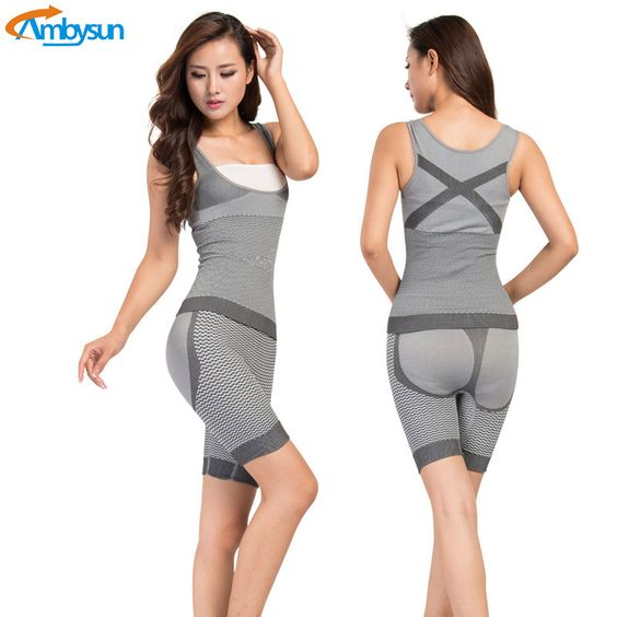 2d636444ae Find More Bodysuits Information about 2017 Women Slimming Bamboo Underbust  Shaper Corset Bodysuit Bodyshaper Corset Body