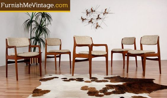 Dining Chairs Teak And Vintage On Pinterest