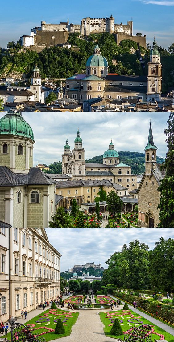 Beautiful Salzburg on a cloudy day. We <3 Salzburg.