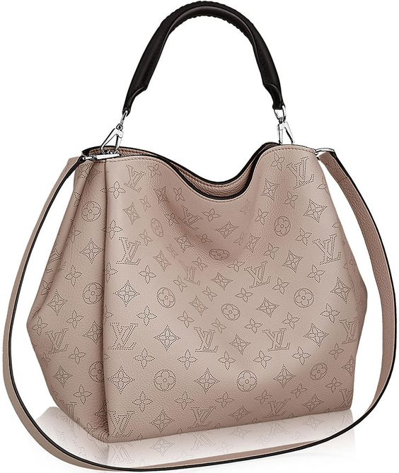 LOUIS VUITTON BABYLONE MONOGRAM LEATHER BAG: