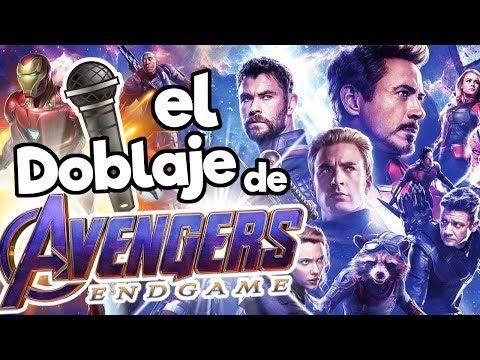 El Doblaje Latino De Avengers End Game Memo Aponte Youtube Avengers Pelicula Avengers Doblaje