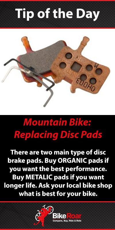 Buy what is best for your bike and riding conditions. Ask your local bike shop mechanic for his/her recommendation. #BikeRoarTOD