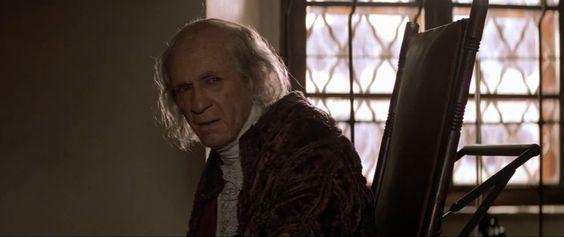 """F. Murray Abraham como Antonio Salieri en la película """"Amadeus"""" (1984) dirigida por Miloš Forman."""