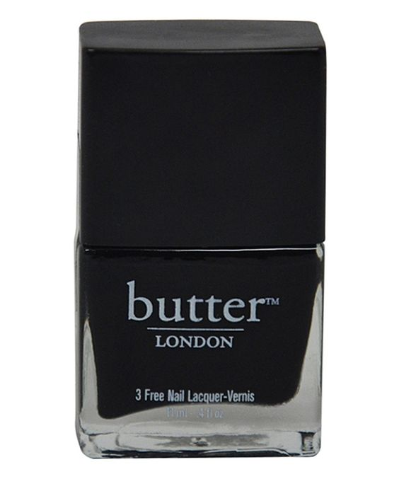 butter LONDON Union Jack Black Nail Lacquer by butter LONDON #zulily #zulilyfinds