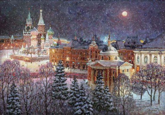 Игорь Разживин. Волшебница зима