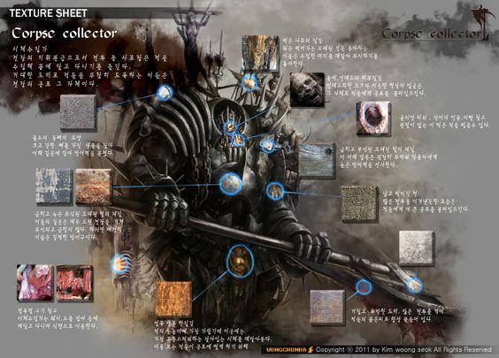 GGSCHOOL  Artist 김웅석 Student Portfolio for game 2D Monster Sheet http://www.ggschool.co.kr