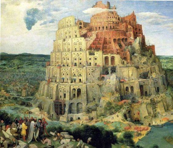 Die EU ist zum Abbruch freigegeben. Sie wird enden wie der Turmbau zu Babel. Hier das Bild von Peter Bruegel aus dem Jahr 1563, Öl auf Holz, 114x155 cm, Kunsthistorisches Museum Wien. (Foto: italian-renaissance-art.com)