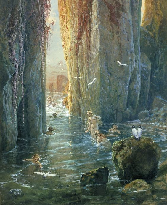 """Tohad on Twitter: """"The wonderful compositions and colors of Georg Janny ( 1864-1935 ) :… """""""