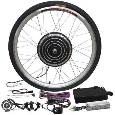 Electric Bicycle Modification Kit Spare Wheel Booster Sensor Controller Bag Sale Price Reviews Gearbest Electric Bicycle Electric Bikes For Sale Cheap Electric Bike