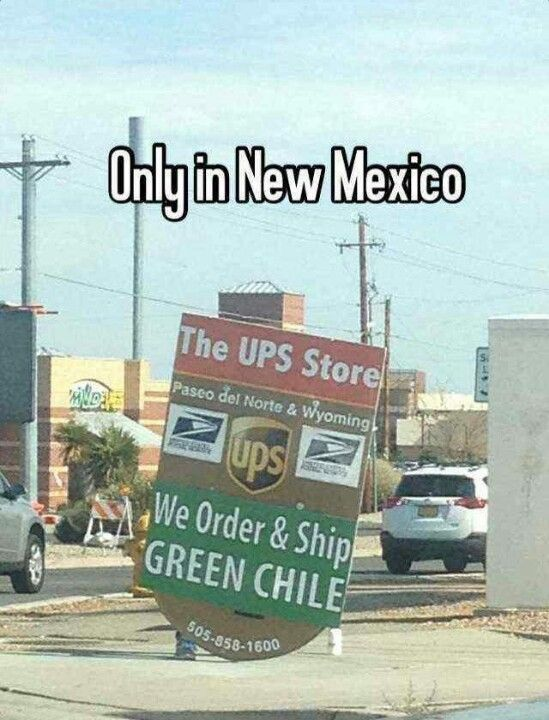 Only in New Mexico!