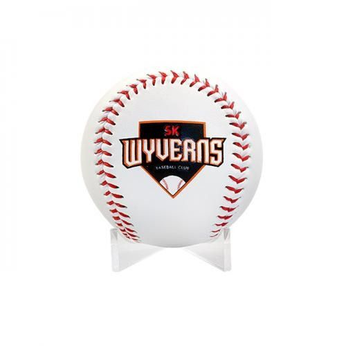 Korean Baseball League Kbo 2020 Team Sk Wyverns Logo Hard White Ball Tracking Ebay In 2020 Baseball League Baseball League