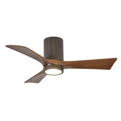 42 Twigg 3 Blade Led Standard Ceiling Fan With Light Kit Included Motor Finish Textured Bronze Blade Finish In 2020 Ceiling Fan Fan Light Ceiling Fan With Light