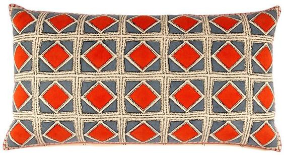 The inspiration for Hali came from a time when John Robshaw used to block print on rug fabrics. It was fun to see how the blocks printed…