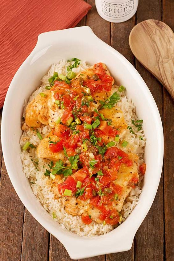 Easy boneless chicken breast and rice recipes
