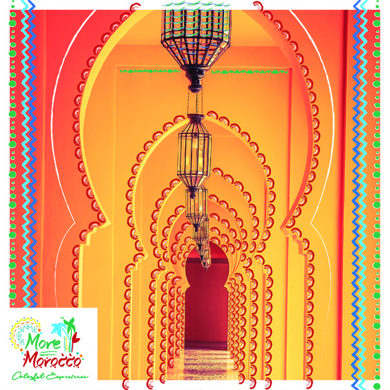 القوس المغاربي اوقوس ثقب المفتاح هو القوس البارز للهندسة المعمارية المغاربية ظهر هذا الشكل من القوس نصف دائري في القرن الخامس في الإمبراطورية الرومانية Morocco