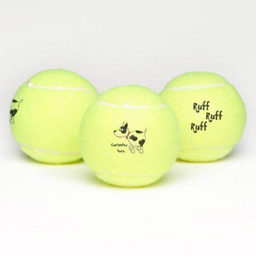 Cartoon Dog Tennis Balls Tennis Tennis Balls Tennis Ball Gifts