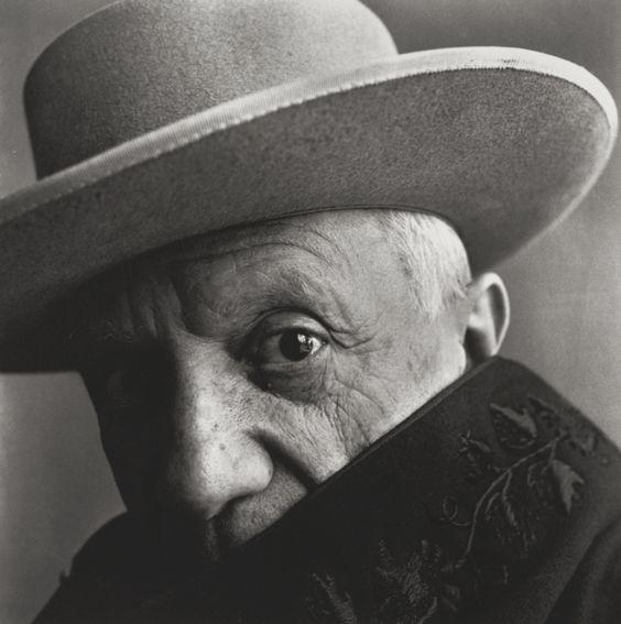 Irving Penn – Pablo Picasso at La Californie, Cannes, France, 1957