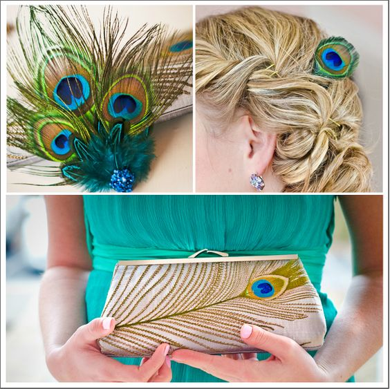 Real Wedding: Intimate #Peacock Themed #Wedding | Done Brilliantly