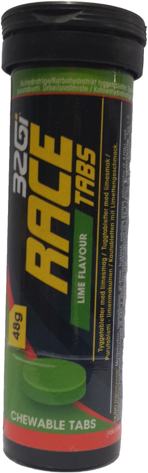 32GI Race 48g Chewable Tabs Lime