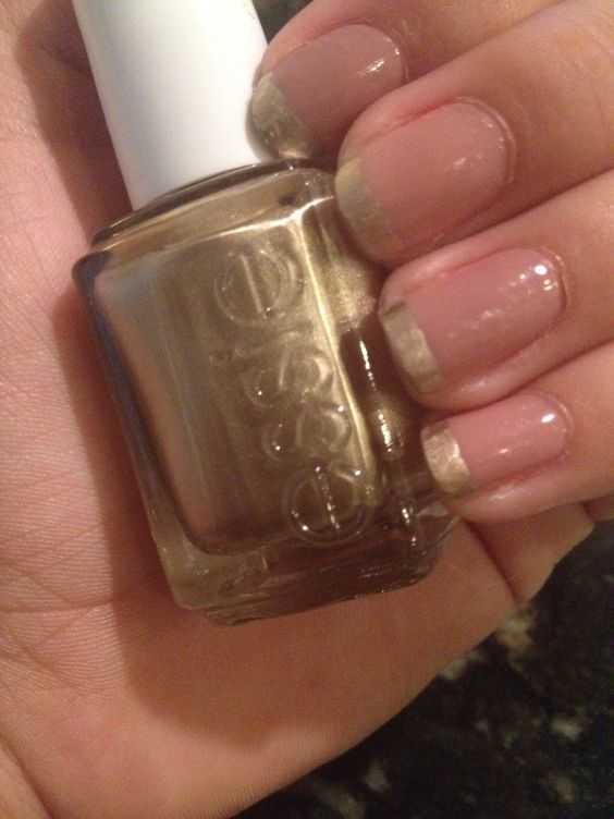 Essie- metallic OPI- tickle my France-y