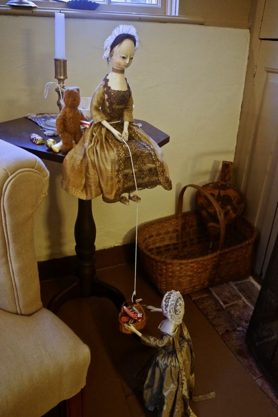 Dolls in the Neatest Manner