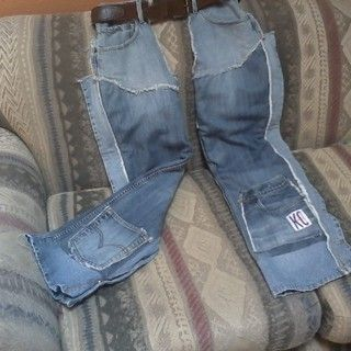 Chaps from old jeans!: Future Projects, Sewing Tips Ideas, Arts Crafts Sewing, Old Jeans