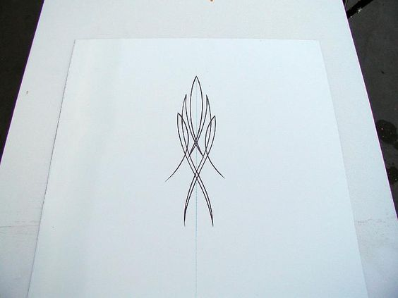 pinstriping practice