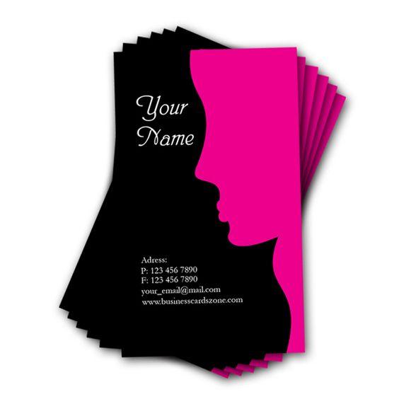 business card ai template