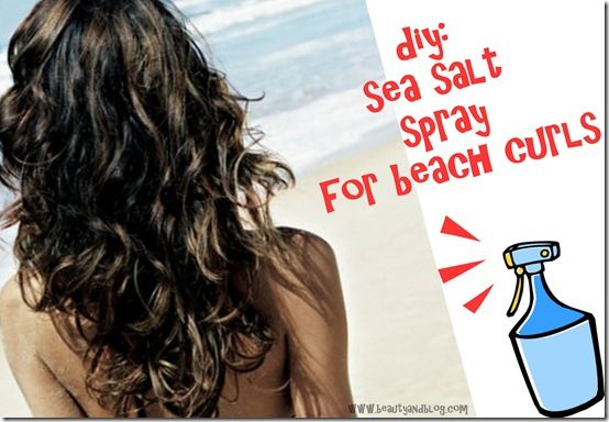 Beach Curls-  1 tbsp of Sea salt,  8oz of water  and a squeeze of lemon, (It adds natural highlights to your hair when in the sun)  Its dirt cheap, works well, natural, and easy!