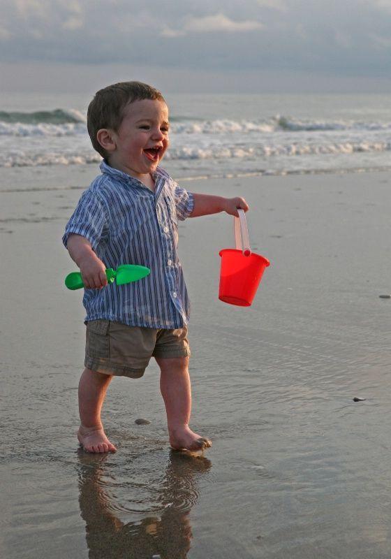 fotos de crianças tumblr na praia ótimas
