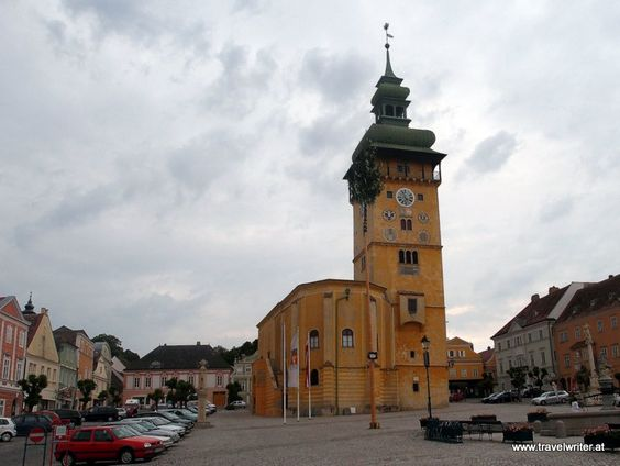 Town hall of Retz, Austria