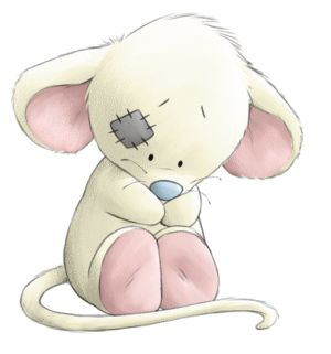 Tiny the Mouse....Tiny the busy little mouse who hurries around; but she'll always have time for you.