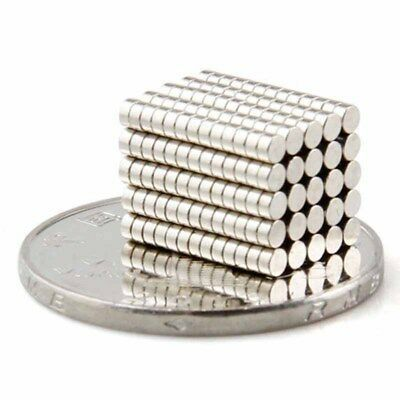 200pcs Super Strong Round Disc Magnets Rare Earth Neodymium Magnet N35 2 X 1 Mm Neodymium Magnets Earth Craft Magnets