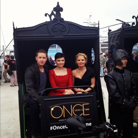 Josh Dallas, Ginnifer Goodwin and Jennifer Morrison, 2012