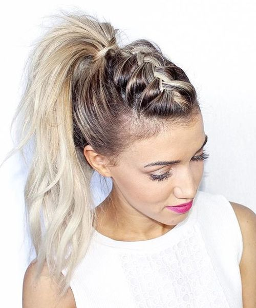 Perfect Braided Pony Hairstyles 2019 for Parties