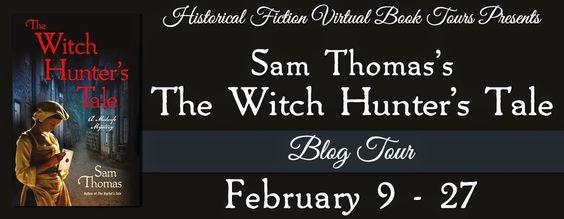 CELTICLADY'S REVIEWS: The Witch Hunter's Tale by Sam Thomas Spotlight!