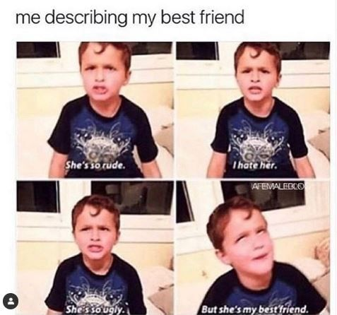 15 Of The Best Friendship Memes To Share With Your Idiot Best Friend Funny Friend Memes Funny Best Friend Memes Friendship Memes