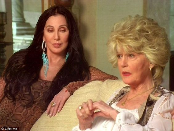 Revelations: The hour long show, which was shot at Chers Malibu mansion, saw Cher, her Georganne LaPiere and their mother casually sitting on a couch and discussing their family history
