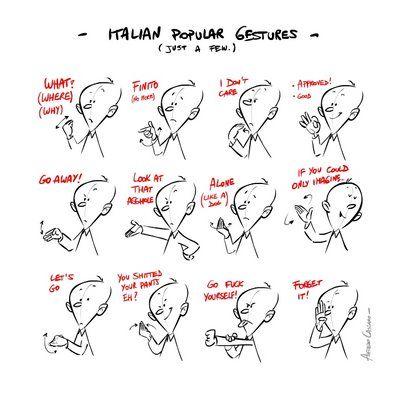 when in Italy do as the Italians do!