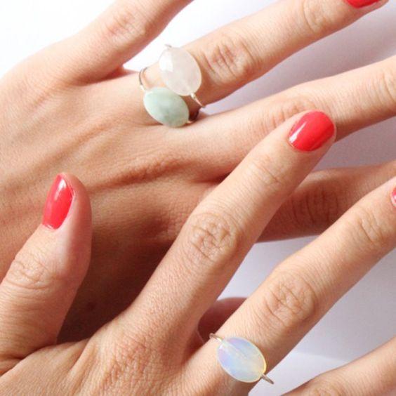 DIY bagues : 11 tutos pour faire une bague - DIY ring
