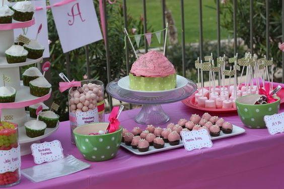 Cupcake theme - Fun party ideas  So Cute
