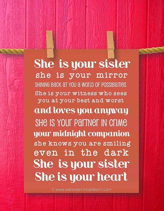 Wall Art Quotes For Sisters : The world s catalog of ideas
