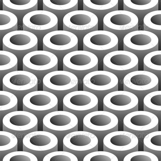 Abstract Tubes Seamless Pattern  #GraphicRiver