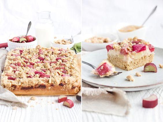 Ein höchst experimenteller Apfel-Rhabarber-Hefekuchen in besonders lecker | Maras Wunderland | Bloglovin'
