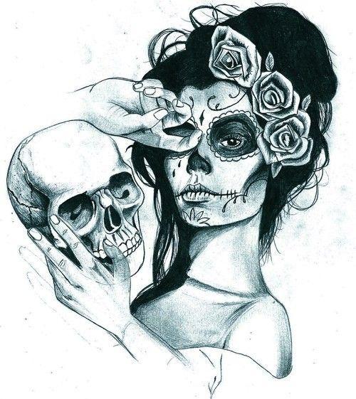 tatouage-tete-de-mort-548.jpg (500×561)