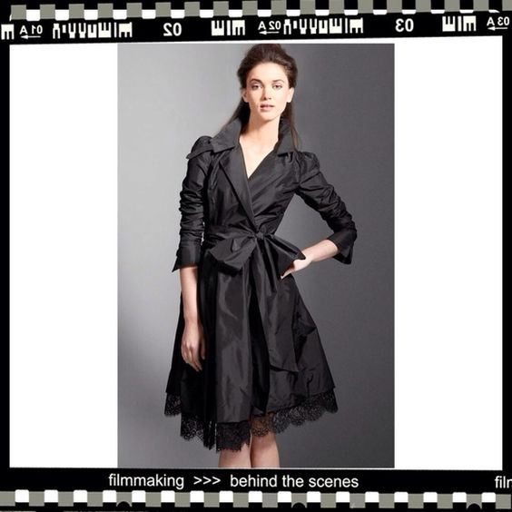 Diane von Furstenberg Dresses & Skirts - SOLD DVF Black Silk Taffeta Formal Wrap Dress