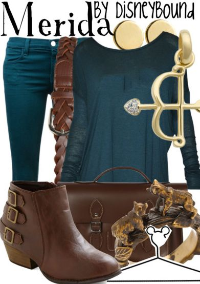 """Disney Character Inspired Outfits 
