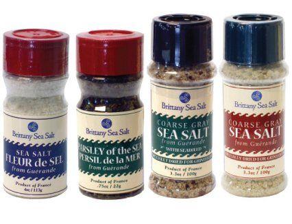 Guérande Sea Salt Gift Assortment - http://spicegrinder.biz/guerande-sea-salt-gift-assortment/