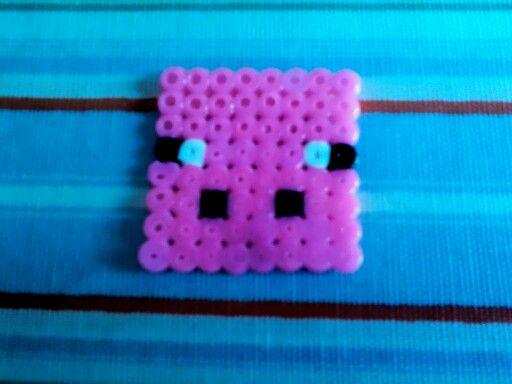 minecraft pig perler bead pattern perler